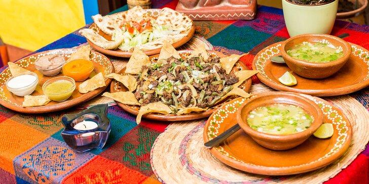 Degustačné mexické menu pre 2 osoby v pravej mexickej reštaurácii