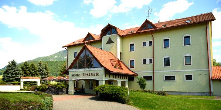 Pobyt na úpätí hôr Veľkej Fatry v Gaderskej doline, v rodinnom Hoteli Gader**