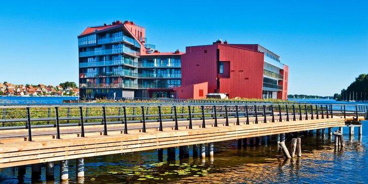 Aktívny pobyt v Poľsku: 5* hotel priamo na jazere, neobmedzený wellness a polpenzia