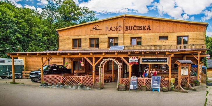 Zážitky na wellness ranči so skvelou polpenziou, privátnym relaxom aj jazdou na koni