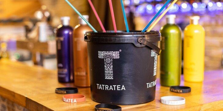 Tá pravá zábava U Kata s alko kýblikmi plnými lahodného Tatra Tea!