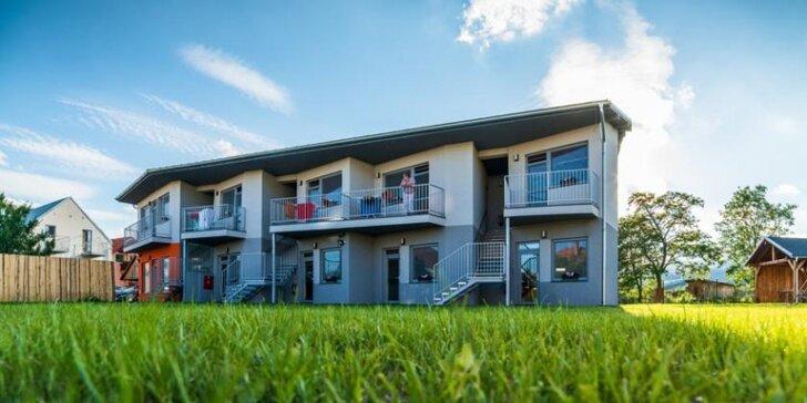 Jesenný pobyt v moderných apartmánoch VERA v Bešeňovej s možnosťou raňajok a zľavou až do 40% do aquaparkov
