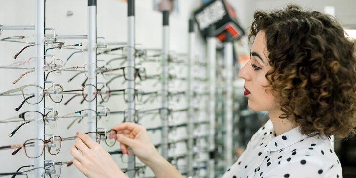 Vyšetrenie očným lekárom + Dioptrické sklá + Zľava na služby a tovar