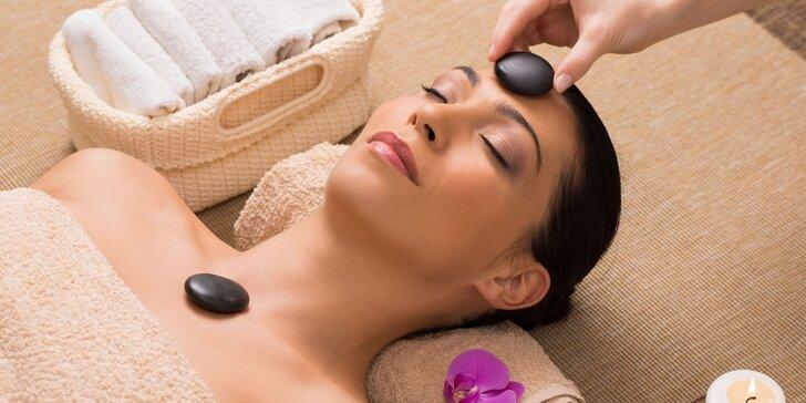 Lash lifting či relaxačná masáž tváre s lávovými kameňmi a čistením