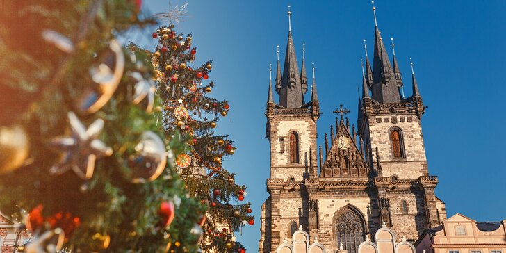 Čarovný advent v Prahe - dvojdňový zájazd s návštevou vianočných trhov
