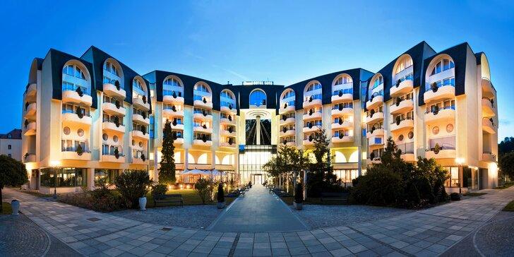 Grand Hotel Sava**** v Slovinsku: polpenzia s kulinárskou show a relax vo wellness pre 2