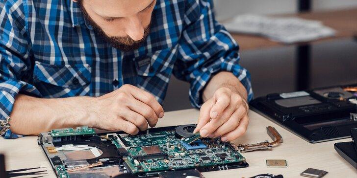 Odstránenie prehrievania či kombinovaný balík služieb pre PC alebo notebooky