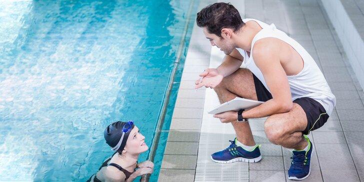 Kurzy plávania pre začiatočníkov, pokročilých aj športovcov