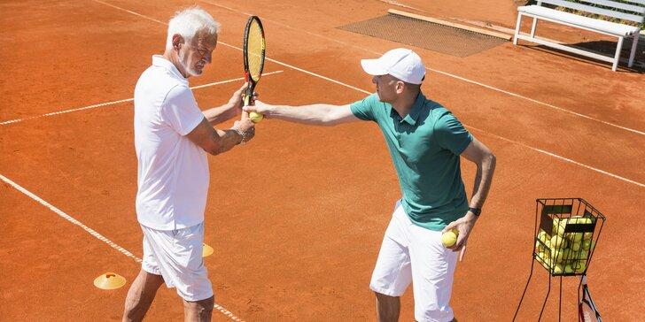 Mesačné tenisové kurzy pre všetkých od 4 do 99 rokov v srdci Bratislavy