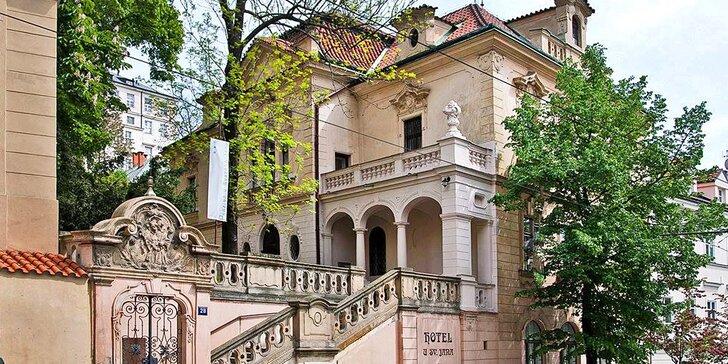 Pobyt s raňajkami pre dvoch priamo v centre Prahy v Hoteli U Svatého Jana***