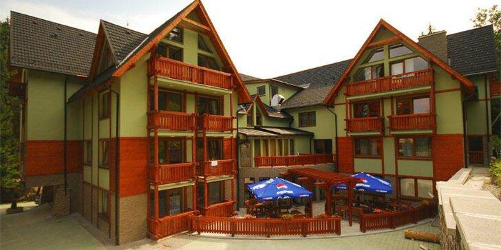 Pobyt v apartmánovom dome Fatrapark na Malinô Brdo
