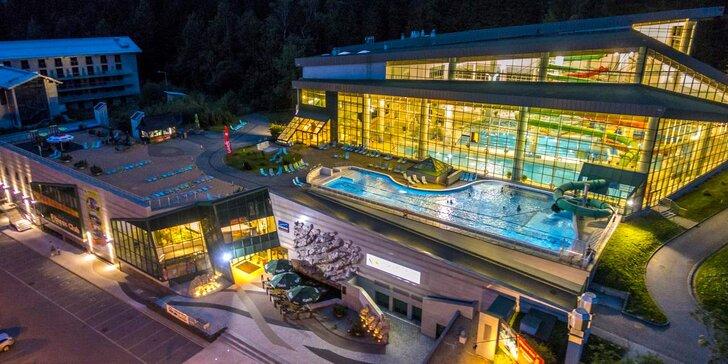 Moderný hotel v srdci Zakopaného s polpenziou - neobmedzený aquapark prístupný priamo z izieb