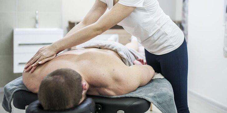 Rôzne druhy masáží, masážny balíček, či permanentka!