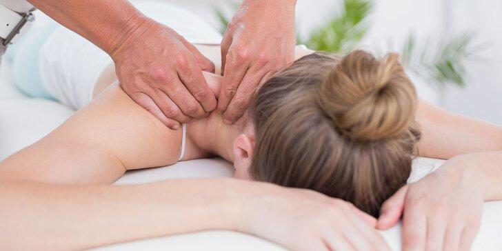 Uvoľnenie chrbta a celého tela s bankovaním, masážou či mäkkými technikami