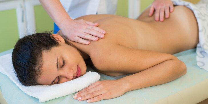 Klasická, športová a relaxačná masáž – pre zdravie aj relax