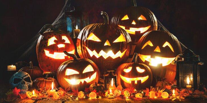 Halloweensky pobyt v Šiklovom mlyne s polpenziou, vírivkou a programom až pre 4 osoby