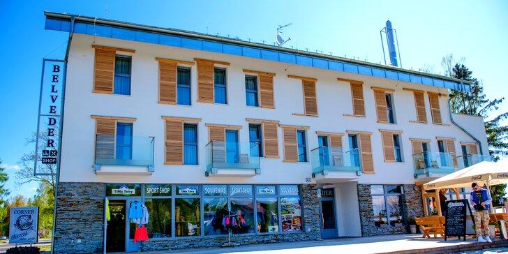Pobyt v krásnych Apartmánoch Belveder v Tatrách s raňajkami a pivným kúpeľom pre dvoch