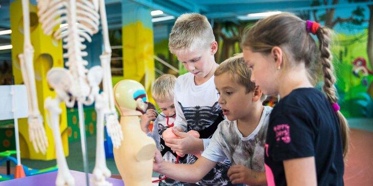 Vstup do detskej interaktívnej galérie Dobrá Hračka v Tatranskej Lomnici!