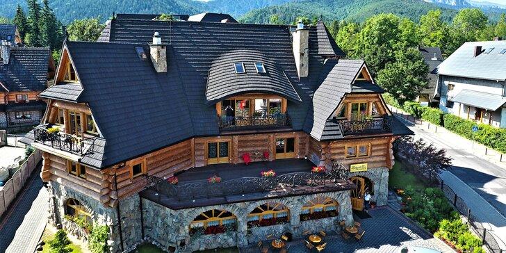 Obľúbený pobyt v Zakopiańskom Dwore aj so vstupom do wellness v hoteli Belvedere****