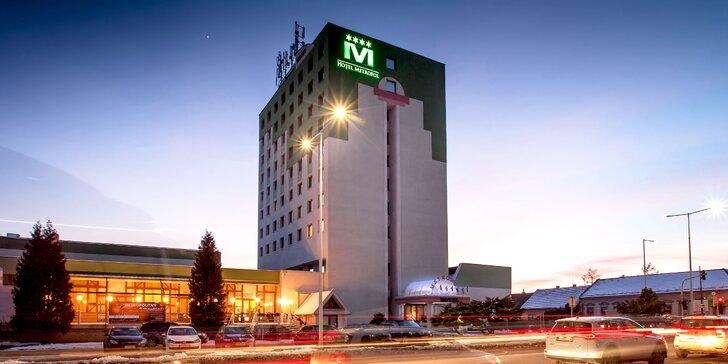 Komfortný rodinný Hotel Metropol**** v centre Spišskej Novej Vsi: wellness, turistika aj pamiatky