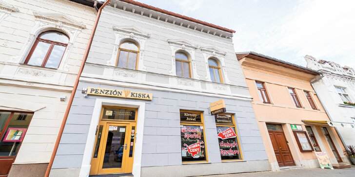 Unikátny pobyt s čarovnou atmosférou v penzióne Kiska v srdci Kežmarku