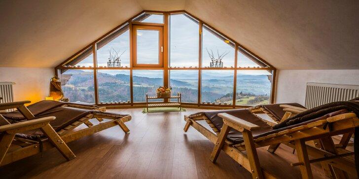 Jesenný wellness pobyt v prostredí Starohorských vrchov s panoramatickým výhľadom