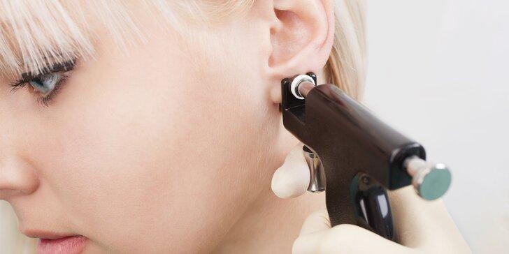 Body piercing alebo nastreľovanie náušníc