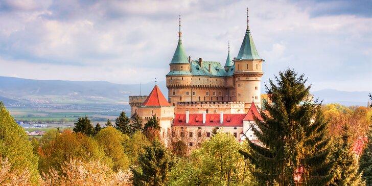 Pobyt v rozprávkovom meste Bojnice v Penzióne Pod Zámkom***