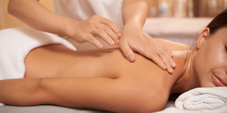 Blahodarná klasická masáž od vyškolených fyzioterapeutov