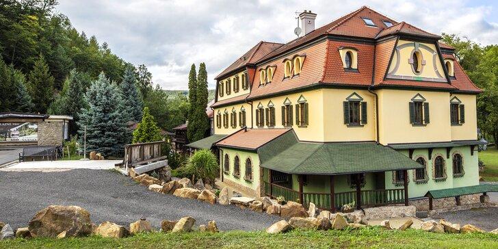 Pobyt na zámku Buchlovice v Lázních Leopoldov - wellness procedúry a liečivý sírny prameň