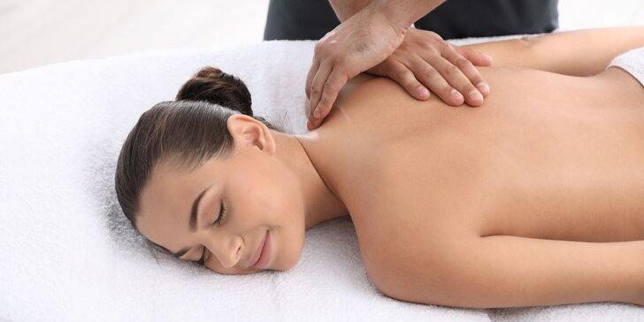 Relaxačná, športová alebo reflexná masáž či manuálna lymfodrenáž