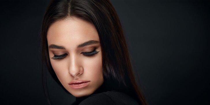 Dokonalý pohľad s mihalnicami aplikovanými v Celebrity Beauty Bare