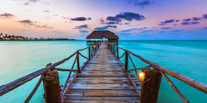 3* rezort v africkom štýle na Zanzibare: 6-12 nocí, all inclusive, nový bazén