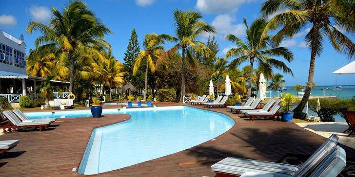 3* rezort na Mauríciu: 6–12 nocí, plná penzia, sladkovodný bazén a 2 vírivky