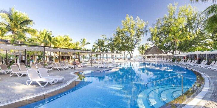 Exotická dovolenka na Mauríciu: 6–12 nocí v 4* hoteli s all inclusive a bazénom