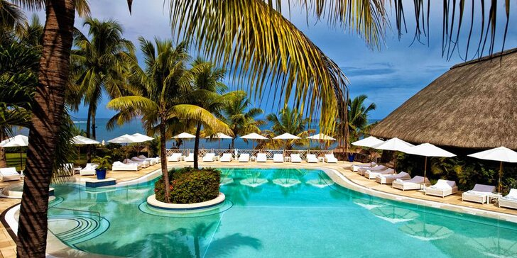 Prepychový 5* rezort na Mauríciu: 6-12 nocí, all inclusive, bazén s vírivkou