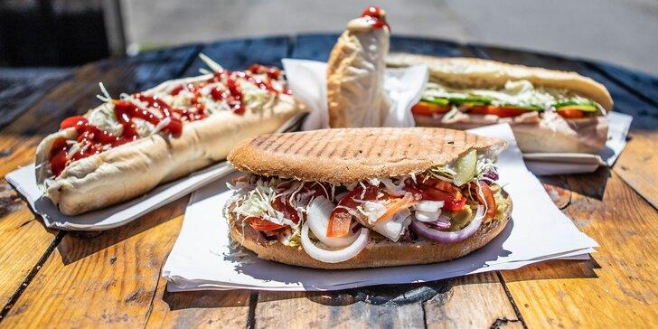 Gastrolegenda bratislavského street foodu - Richman, burger, bageta alebo americký hotdog