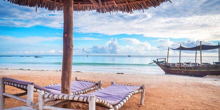 4* rezort na exotickom Zanzibare: 6-12 nocí, all inclusive a jacuzzi s barom