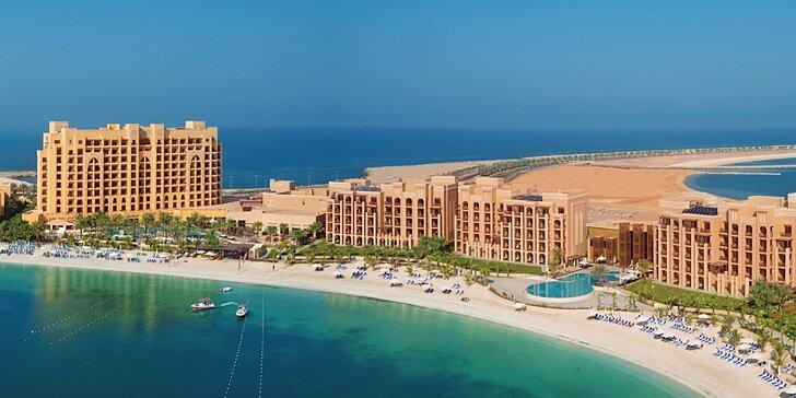 Relax v emiráte Ras Al Khaimah: 4–9 nocí v 5* hoteli s all inclusive, spa