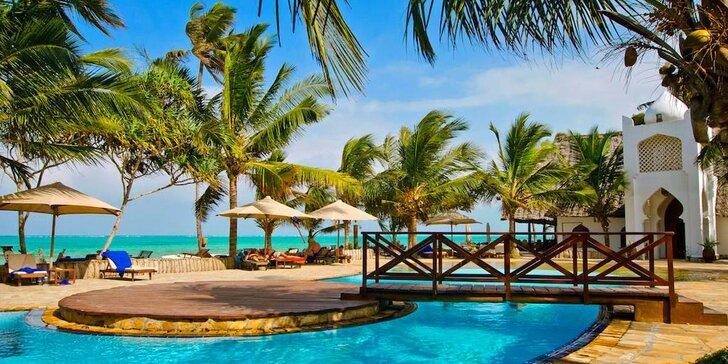 Dokonalý relax na Zanzibare: 6-12 nocí v 4* rezorte s all inclusive a bazénmi