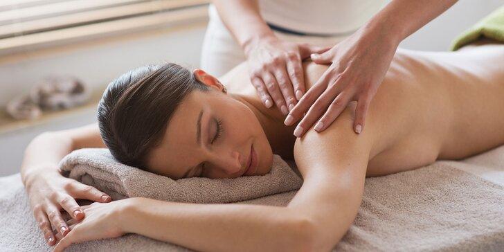 Klasická či zdravotná masáž - vhodná aj pre tehotné ženy alebo bankovanie v Dream Care