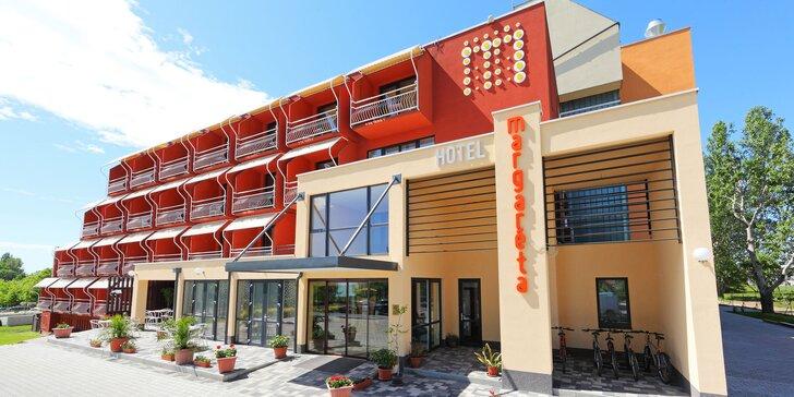 Baby friendly hotel pri krásnom Balatone: wellness a izby Deluxe s terasou