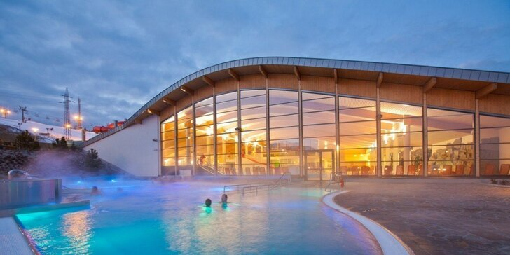 Wellness dovolenka v Białke Tatrzańskej so vstupmi do aquaparku Terma Bania