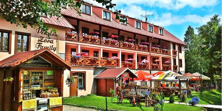 Pobyt v rodinnom Penzióne Zora family v blízkosti Tatranskej Lomnice