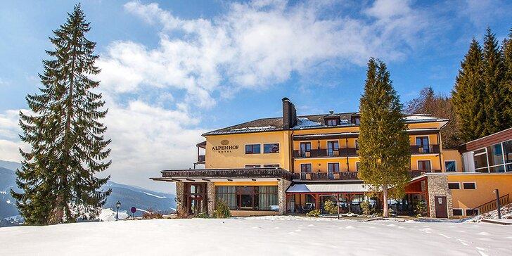 Dovolenka v rakúskych Alpách - chutná polpenzia, vstup do bazéna a lyžiarske stredisko Semmering