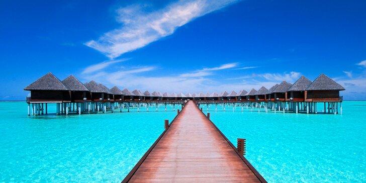 Dokonalá dovolenka v 4*+ rezorte na Maldivách: 6–12 nocí s all inclusive