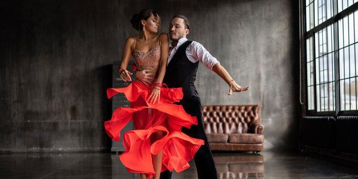 Súkromné tanečné lekcie s profesionálnym lektorom Petrom Ingrišom až pre 4 osoby