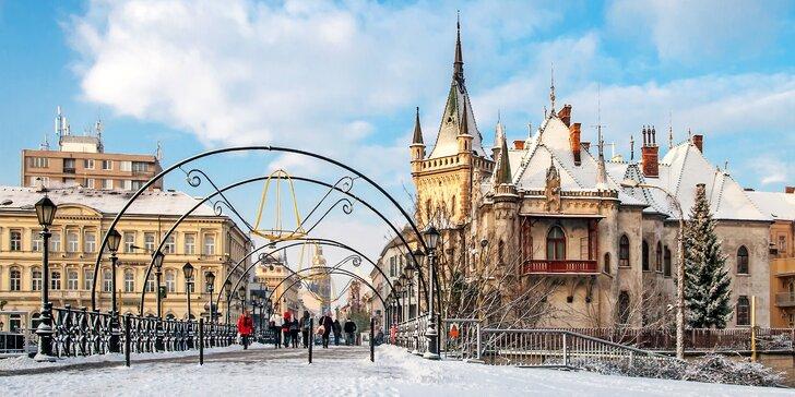 2-dňový zájazd do Košíc - návšteva vianočných trhov, prehliadka centra a ubytovanie s raňajkami