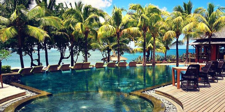Exotický 4* hotel na Mauríciu: 6-12 nocí, all inclusive, 2 bazény, priamo pri pláži