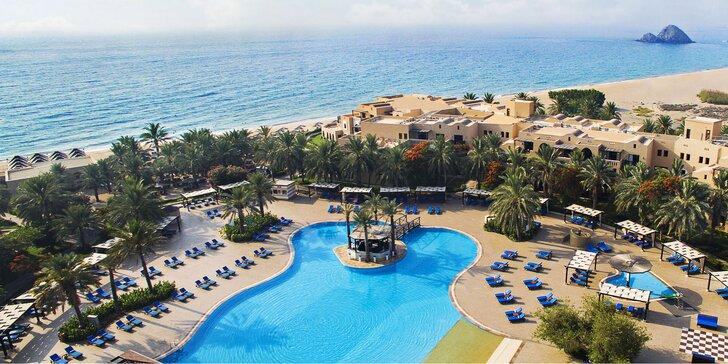 Skvelá dovolenka v emiráte Fujairah: 4-9 nocí s all inclusive, 2 bazény, wellness